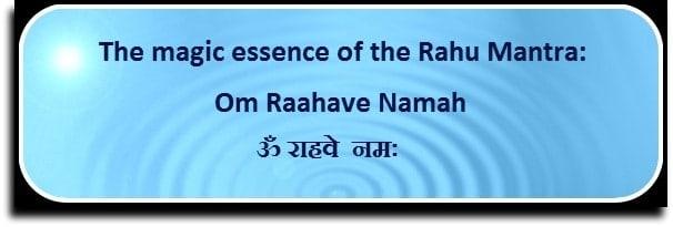 Main Rahu Mantra
